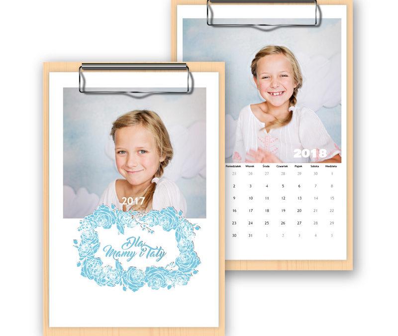 Kalendarz na sklejce 3